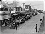 (Sir Thomas Henley's?) funeral procession in Lyons Road Drummoyne (3484359799).jpg