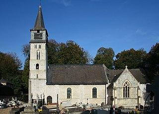 Saint-André-dHébertot Commune in Normandy, France