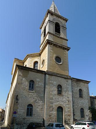 Pierrelatte - The church of Saint-Jean-Baptiste in Pierrelatte