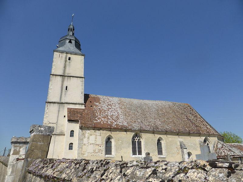 Église Saint-Martin de Brunelles, en Eure-et-Loir.