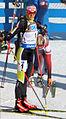 Éva Tófalvi at Biathlon WC 2015 Nové Město.jpg