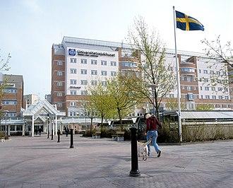 Örebro University Hospital - Image: Örebro University Hospital 01