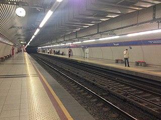 Üçyol—Çamlıkule Line İzmir Metro line