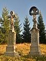 Świątkowa Mała, cerkiew św. Michała Archanioła, cmentarz przycerkiewny (HB11).jpg