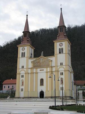 Pregrada - Church in Pregrada