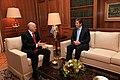 Συνάντηση με τον Πρόεδρο της Δημοκρατίας της Βουλγαρίας, Georgi Parvanov (4155366932).jpg