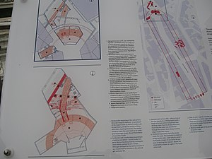 Plovdiv Roman Stadium - Map of the discovered part of the stadium