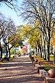 Алея Забашти восени.jpg