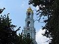Вид на колокольню от Царских чертогов Троице-Сергиева Лавра.JPG
