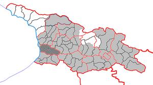 Гурия на карте