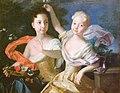 Каравакк - Портрет царевен Анны Петровны и Елизаветы Петровны.jpg