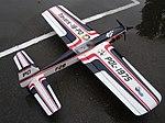 Кордовая пилотажная модель Павла Дзюбы из Польши, с электродвигателем.JPG