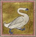 Лебедь. Миниатюра из Абердинского бестиария.png