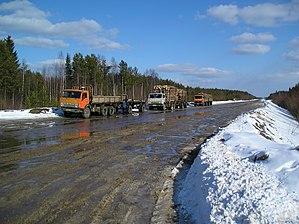 Kortkerossky District - Logging trucks, Kortkerossky District