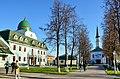 Мечеть при духовном управлении (Первая соборная мечеть) Территория.jpg