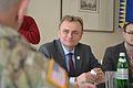 Представлений новий керівник Об'єднаної багатонаціональної групи з підготовки – Україна (33021724651).jpg