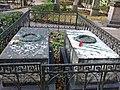 Санкт-Петербург, Тихвинское кладбище, могила Н.М. Карамзина.JPG