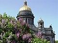 Санкт-Петербург 2003. На Исаакиевской площади цветет сирень. - panoramio.jpg