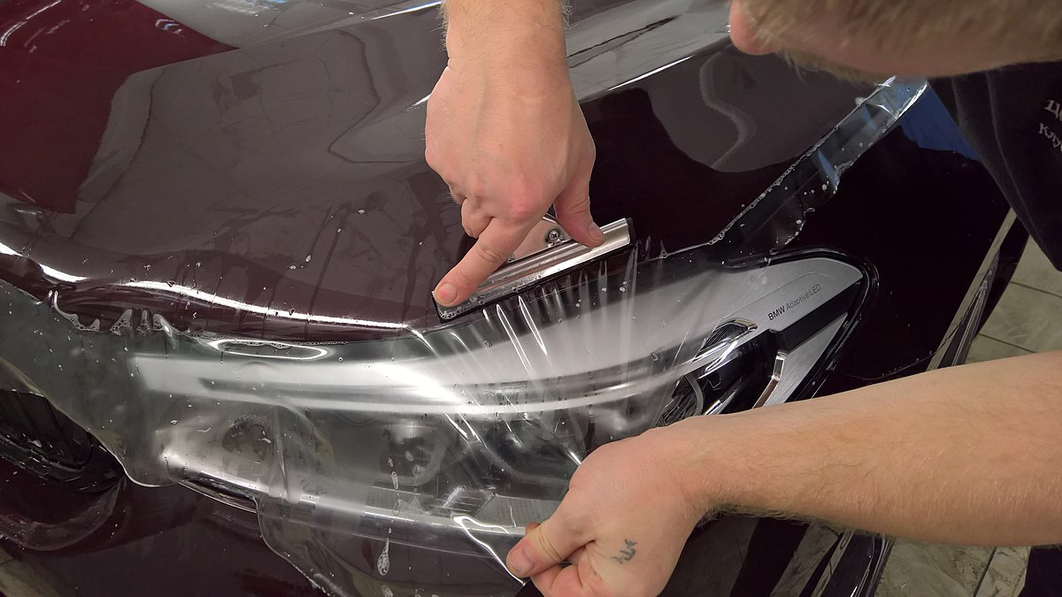 Paint protection film - Wikipedia