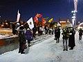 Флаги на пикете 6 февраля 2020 года в Екатеринбурге.jpg