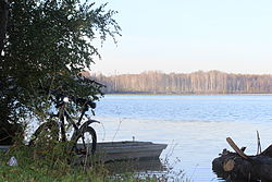 Lake Shamyary, a protected area of Russian in Kilemarsky District