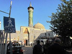 Sinan Pasha Mosque (Damascus) - Image: جامع السنانية باب الجابية دمشق سوريا
