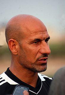 Radhi Shenaishil Iraqi footballer and coach