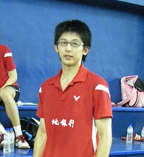 Chen Hung-ling Badminton player