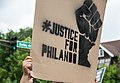 -JusticeForPhilando Sign - Lexington & Selby, St. Paul (28128209246).jpg
