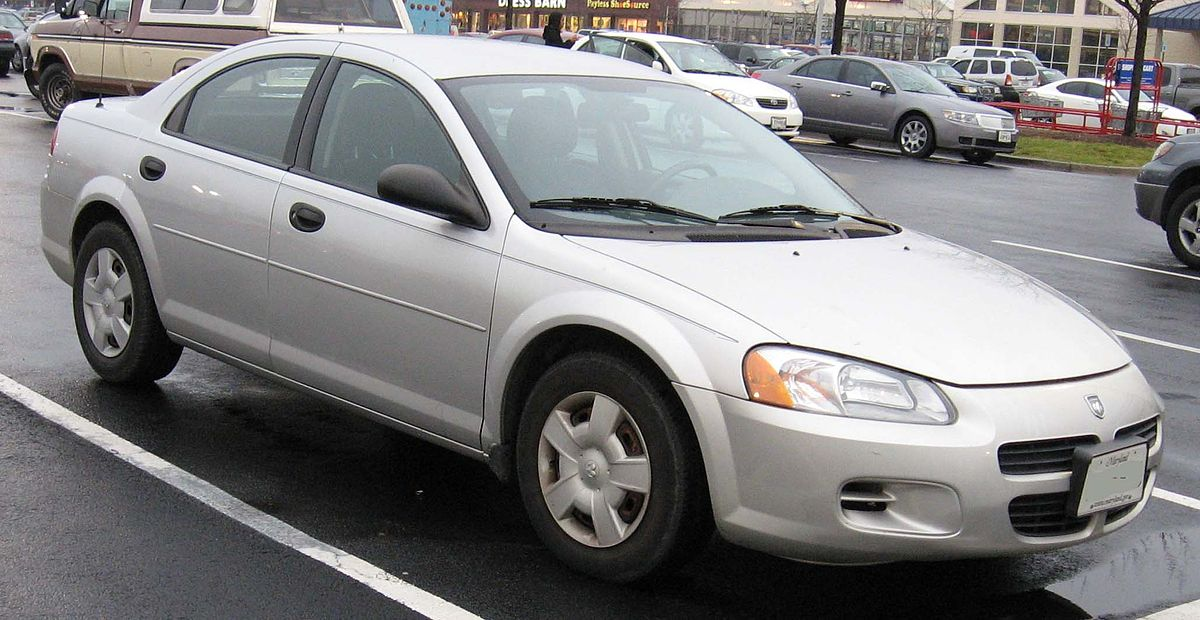 Px Dodge Stratus Sedan on Dodge Avenger