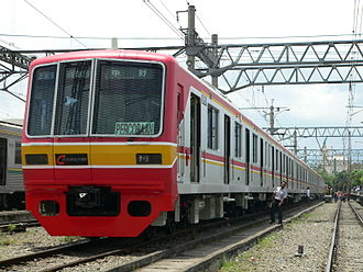 Tokyo Metro 05 series - Image: 05 109F Jabodetabek KCJ 05 Series EMU
