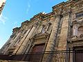 053 Catedral de Tortosa, façana barroca inacabada, part esquerra.JPG