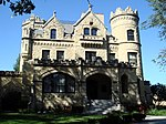 The Joslyn Castle is in the heart of the Gold Coast Historic District.