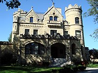 The Joslyn Castle is home to the Joslyn Castle Institute, a nonprofit environmental organization.