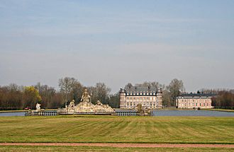 Belœil - The park and the castle of the Princes of Ligne.