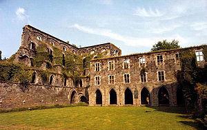 Villers Abbey - Villers Abbey ruins