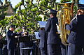 100 Jahre Dampfschiff Stadt Rapperwil - Hafenfest Rapperswil - 'Rosenempfang' durch die Feldmusik Jona 2014-05-23 19-14-09.JPG