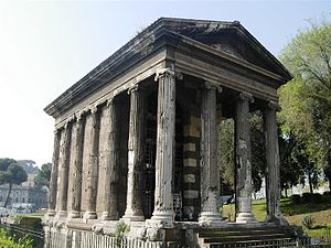 10565 - Rome - Temples of the Forum Boarium (3507032090).jpg