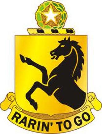 112th Cavalry Regiment - Image: 112Armor Regt DUI