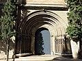 115 Basílica de Santa Maria (Vilafranca del Penedès), portal lateral.JPG