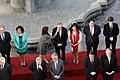 11 Marzo 2018, Pdta. Bachelet y Ministros participan de foto oficial previo al cambio de mando. (26876848788).jpg