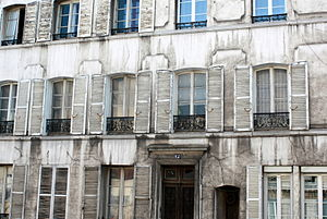 Michael Madhusudan Dutt - 12 Rue Des Chantiers, 78000 Versailles, France – the apartment building where M. Dutt dwelled (photo taken in July 2011)