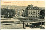 13440-Kötzschenbroda-1911-Blick über die Post nach der Friedensburg-Brück & Sohn Kunstverlag.jpg