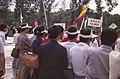 13th WFYS Pyongyang, North Korea - People watching Colombian Delegation.jpg