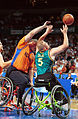 141100 - Wheelchair basketball Troy Sachs action - 3b - 2000 Sydney match photo.jpg