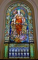 16 Blessed are the Merciful, Estabrook Memorial Window, 1920, Louis C. Tiffany - Arlington Street Church - Boston, Massachusetts - DSC07036.jpg