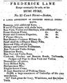 1832 Frederick Lane BostonDirectory.png