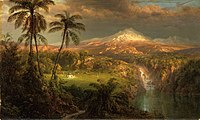 1872, Church, Frederic Edwin, Passing Shower in the Tropics.jpg