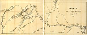 Reading Company - Philadelphia and Reading Rail Road route map (1873)