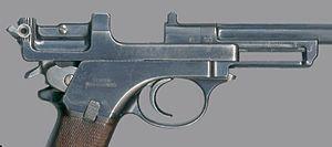 Mannlicher M1901 - Image: 1901Mannlicher Breech